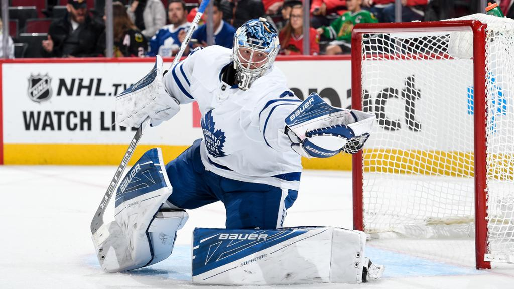 Frederik Andersen Wont Start Tuesday For Maple Leafs