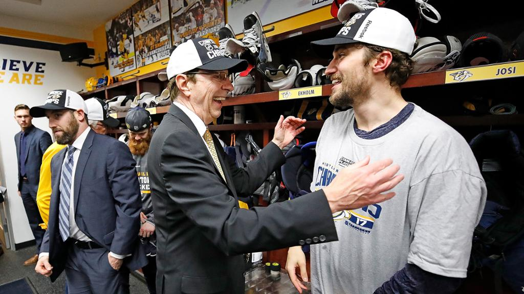 Final Berth Was A Long Time Coming, But No One Deserves It More Than David Poile