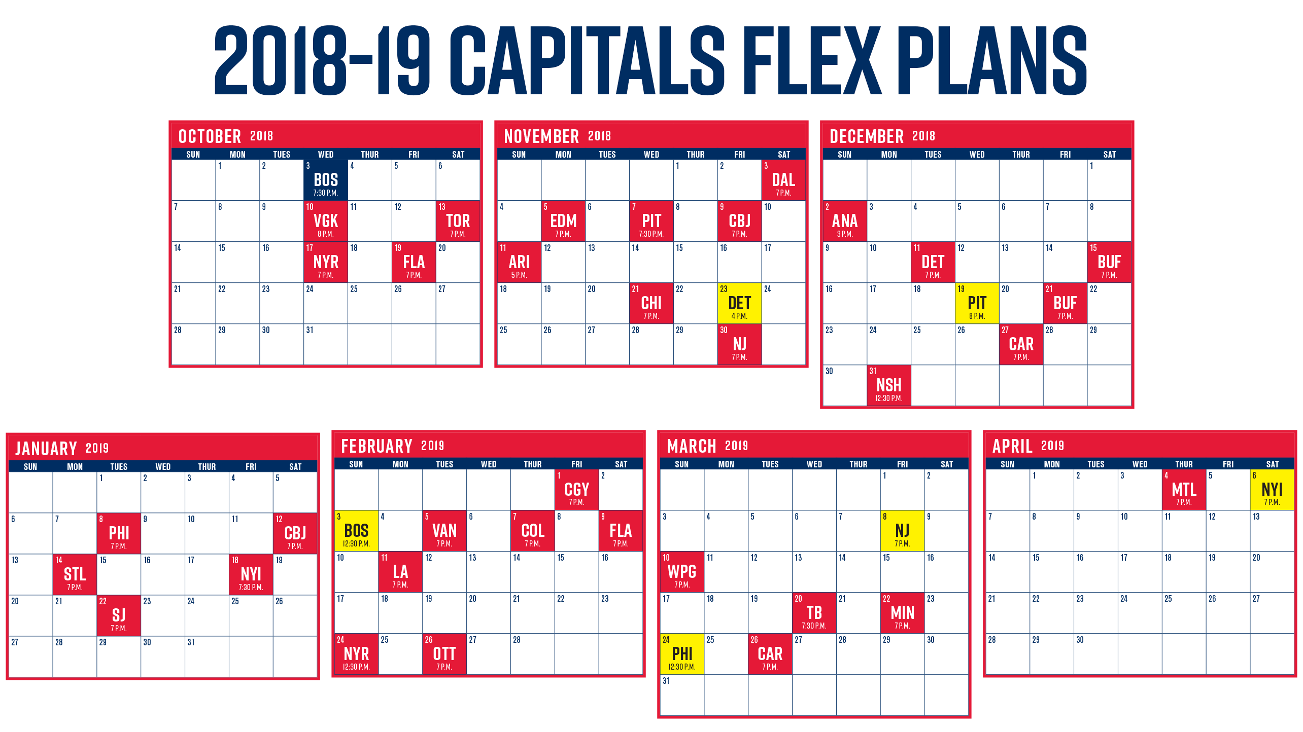 Unforgettable image intended for washington capitals printable schedule